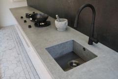 Custom Dekton Sink