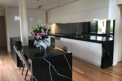 Fine By Design Cabinetry - Silestone Nero Marquina